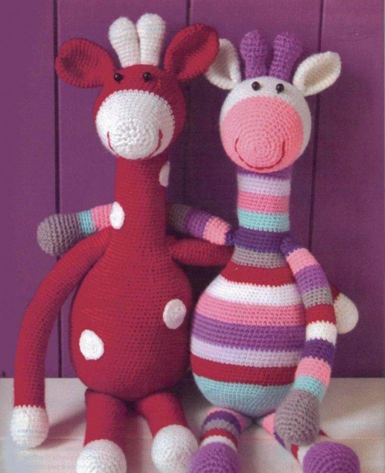 Monty the Giraffe Crochet stuffie CUSTOM COLOR by LoveDincy ... | 947x772