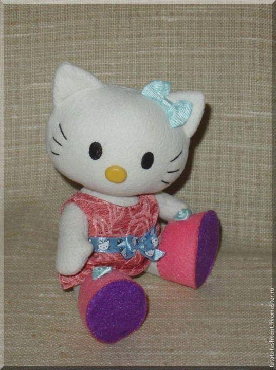 Hello Kitty en tela - Patrones gratis