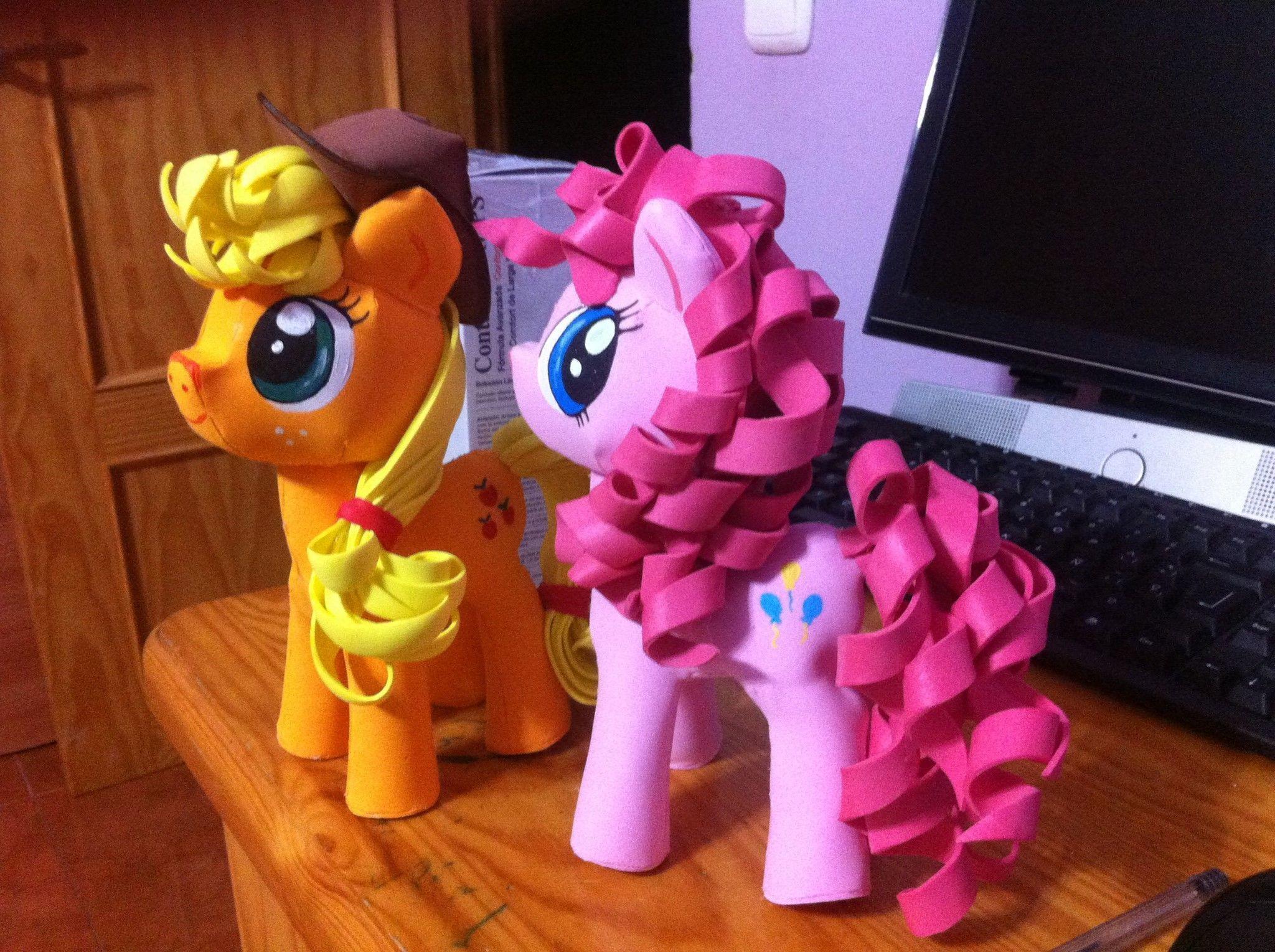 My Little Pony En Moldes De Foamy