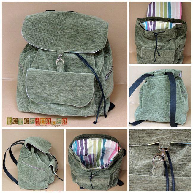 Tutorial para hacer una mochila | PatronesMil