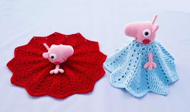 PEPPA PIG | Peppa pig doll, Crochet pig, Amigurumi pattern | 230x388