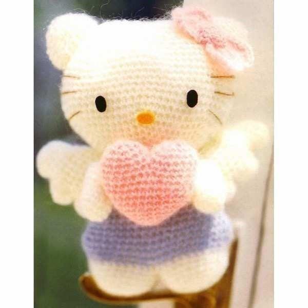 Hello kitty vestidas de flor | Amigurumi patrones gratis, Patrones ... | 600x600