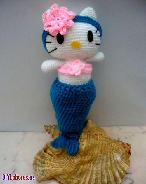 Hello Kitty Angel amigurumi - Patrones gratis | 631x500