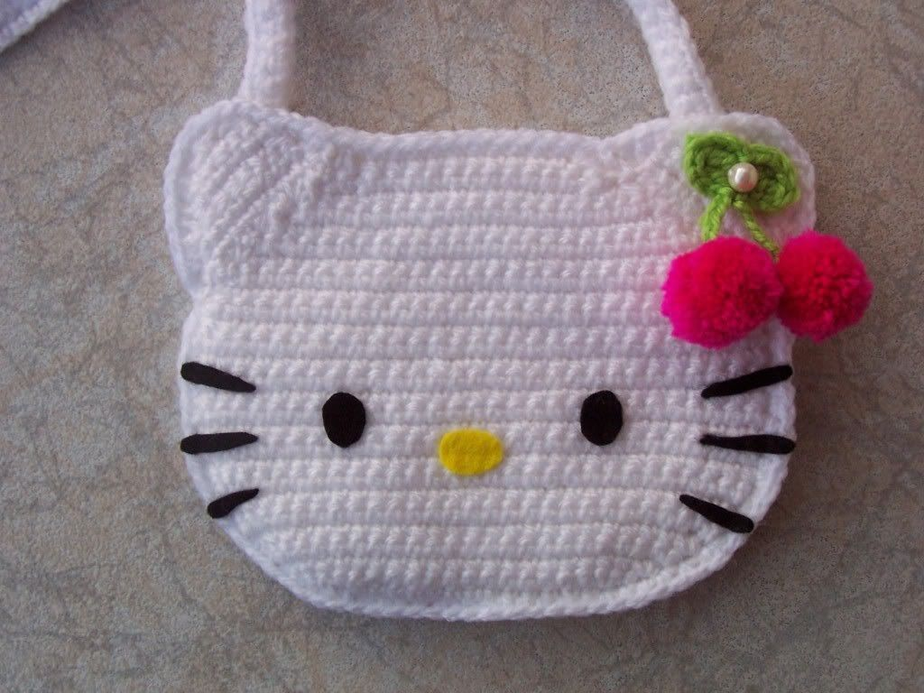 Bolso de Hello Kitty para ninas - Patrones gratis