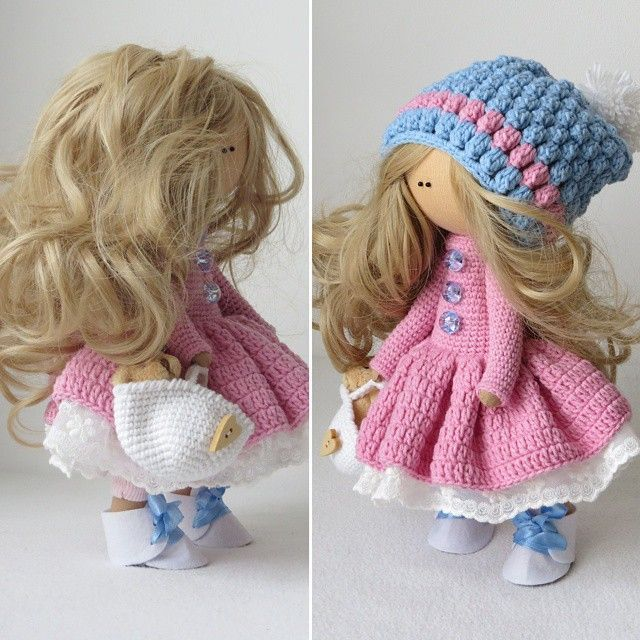 muñeca rusa - Patrones gratis