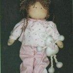 Muñeca Marina, con su conejito