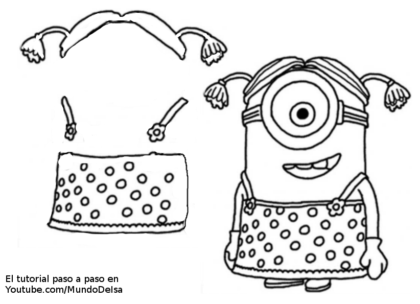 funda de vestido mujer minion 3 TSYrgqSx