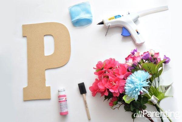 materiales para hacer fuentes con flores