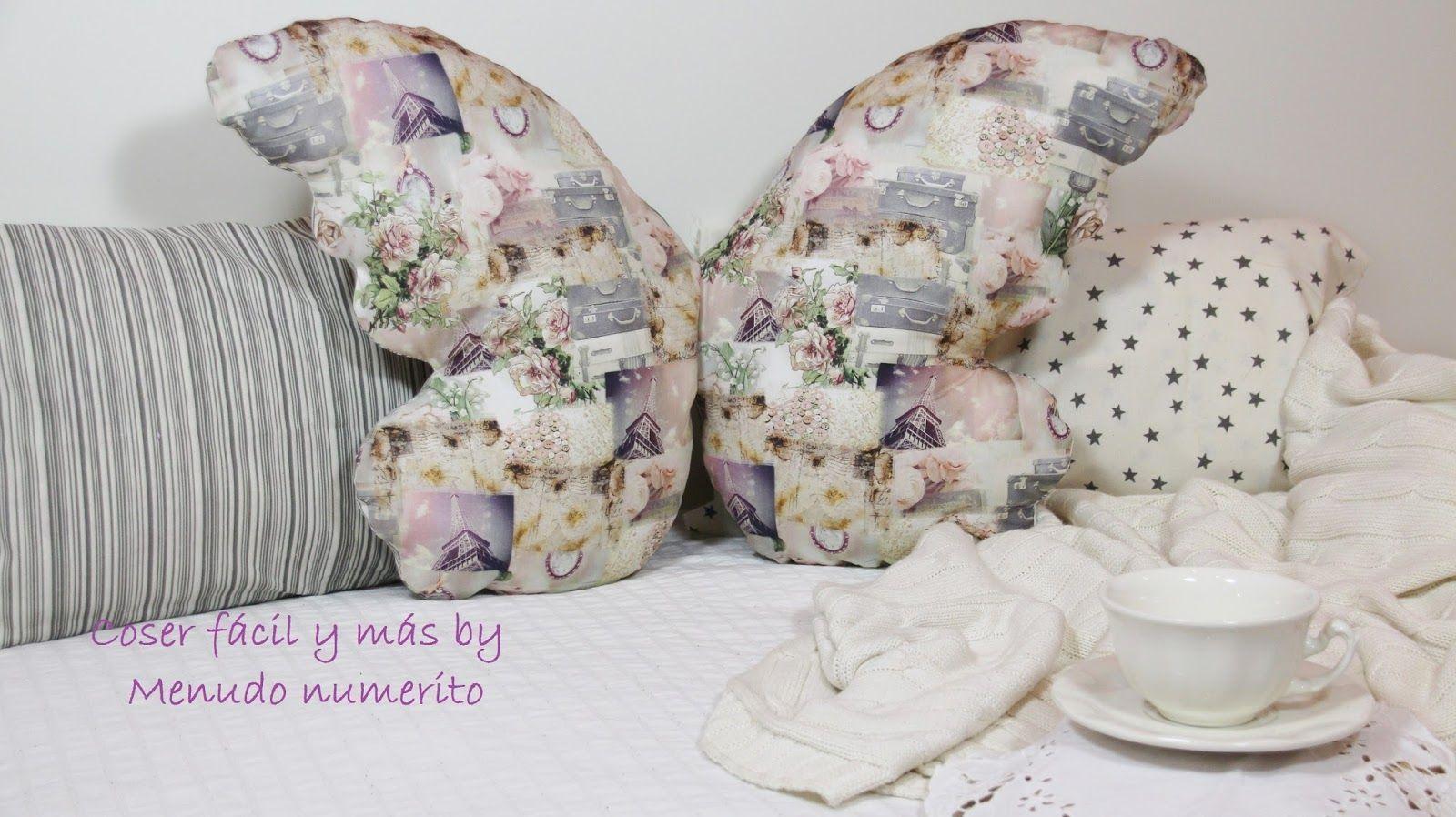 Coj n de mariposa con patr n y tutorial patrones gratis - Hacer cojines para sillas ...