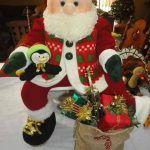 Muñeco Papá Noel en tela con Moldes