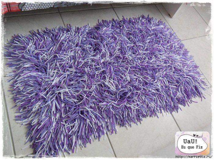 Como hacer una alfombra de trapillo patrones gratis for Como hacer alfombras en bordado chino