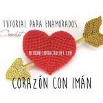 Corazón con imán para San Valentin