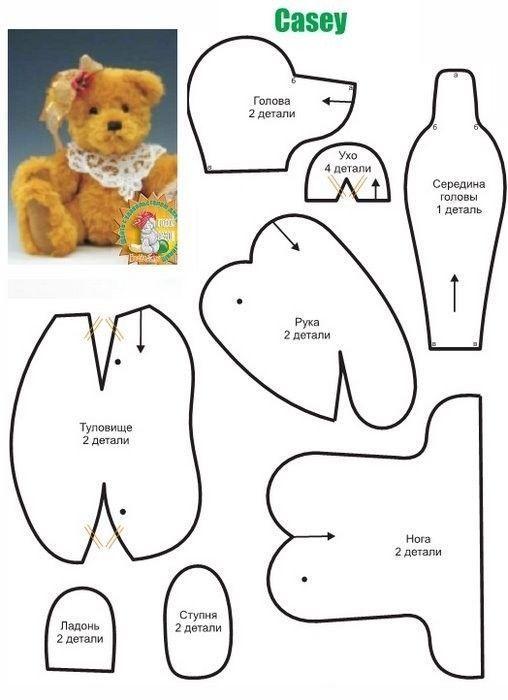 patrones osos de peluche 6