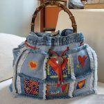 Ideas para hacer bolsos reciclando pantalones vaqueros