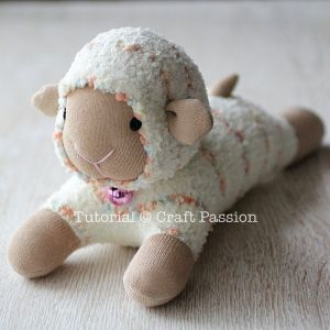 ovejas con calcetin paso 16