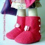 Tutorial de como hacer unas botas para muñecas