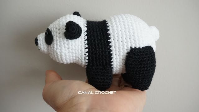 Amigurumi Oveja : Oso panda amigurumi - Patrones gratis