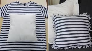 reciclar camisetas sin coser