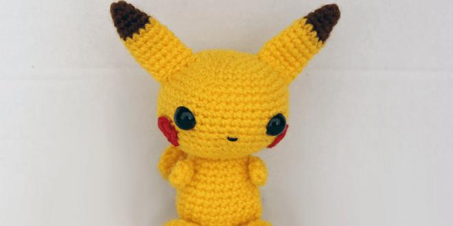 Pikachu En Amigurumi : Pikachu amigurumi - Patrones gratis