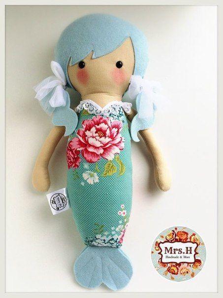 Como-hacer-muñecas-sirenas-de-fieltro01