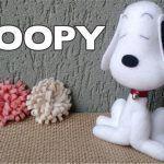 Snoopy en fieltro