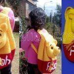 Tutorial Mochila de Winnie The Pooh tejido a crochet