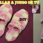 DIY Zapatillas para casa