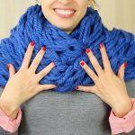 DIY Bufanda con los dedos