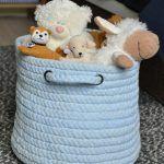 DIY cesta para juguetes