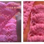 DIY Punto a crochet especial colchita de bebe