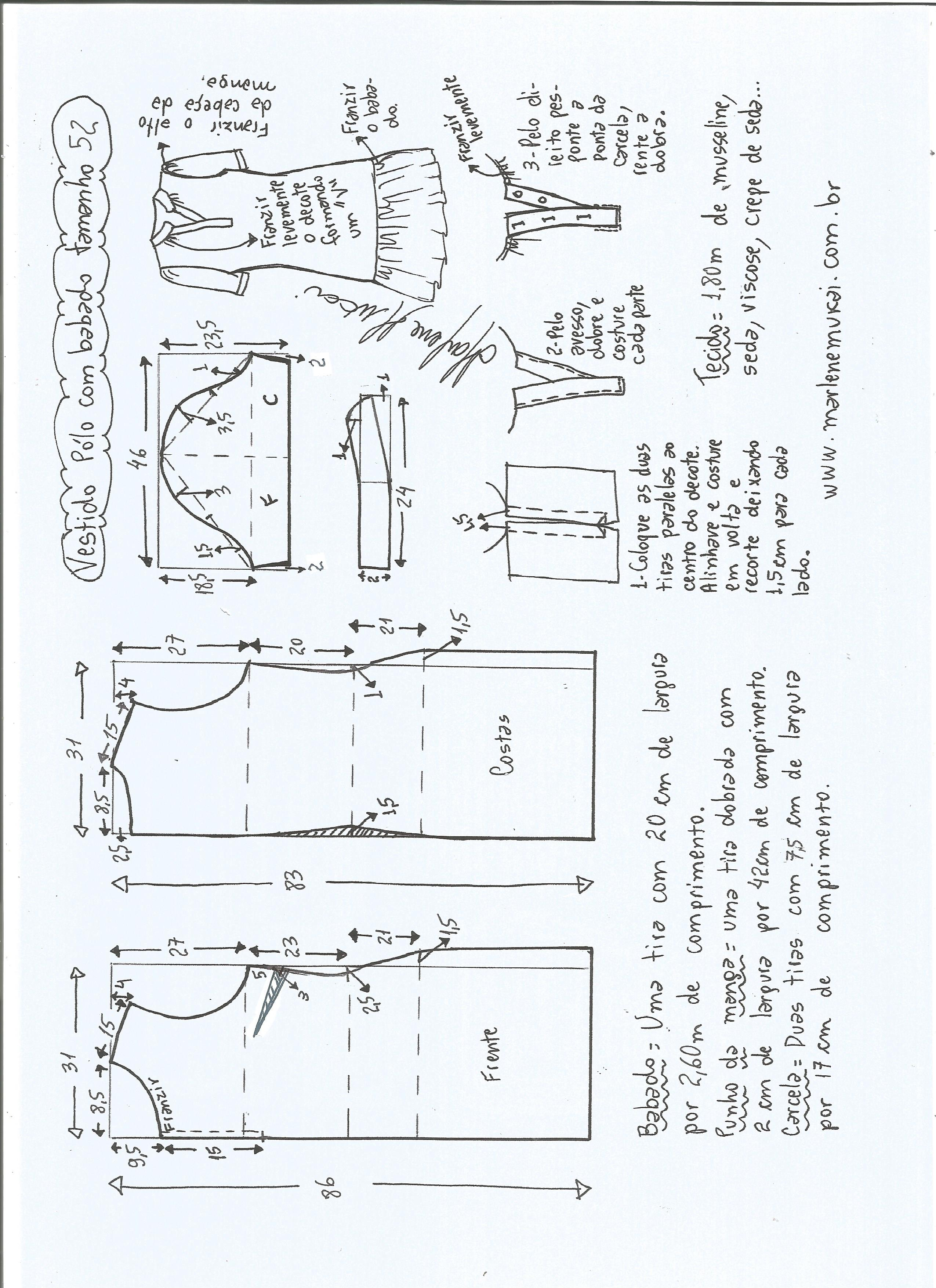 vestido-polo-con-volante-52 - Patrones gratis