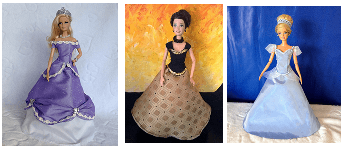 6e90f478b vestidos-princesas - Patrones gratis