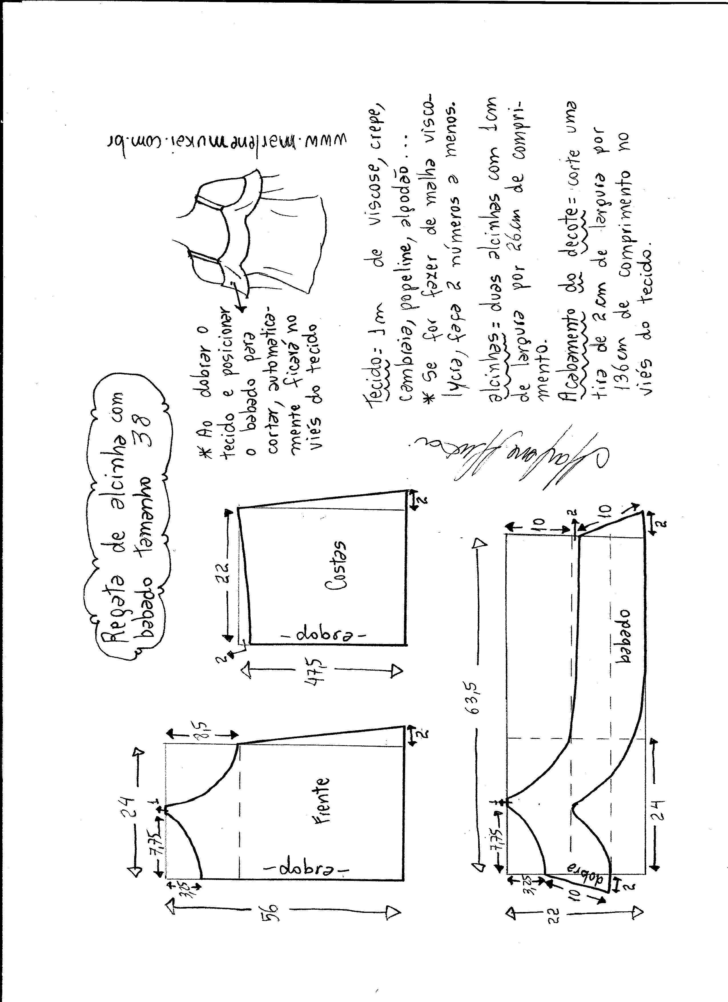 blusa-volante-38 - Patrones gratis