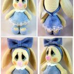 DIY Preciosa Conejita amigurumi