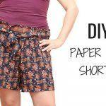 DIY como hacer unos Shorts Paper Bag