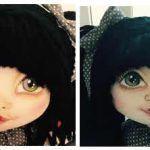 DIY como pintar las caras de las muñecas de tela