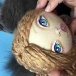 Materiales para pintar las caras de las muñecas de tela