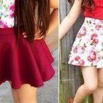 Patrón de falda para niña