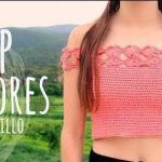 DIY Top Flores Fácil Ganchillo o Crochet