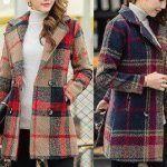 Patrón de chaqueta trenca para mujer