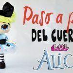 DIY muñeca Lol Surprise Alicia de tela