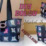 DIY Bolso con retales de telas