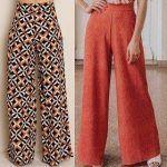 Patrón de Pantalón clásico