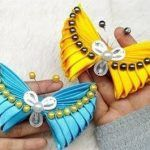 DIY Mariposas hechas con lazos