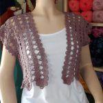 DIY Crochet cardigan de verano