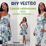 DIY Vestido de fiesta elegante de dos piezas