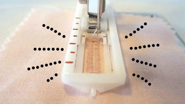 Como hacer un ojal en maquina de coser casera