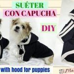 Suéter con capucha para perritos
