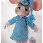 Muñeco amigurumi de Topo gigio