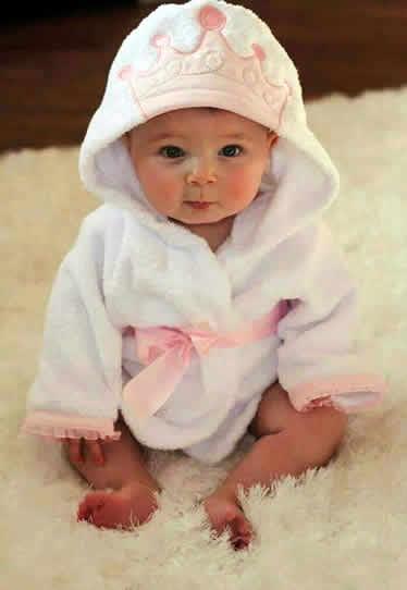 Albornoz para bebé